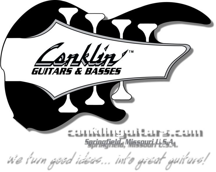 Conklin Guitars & Basses Springfield, Missouri U.S.A.